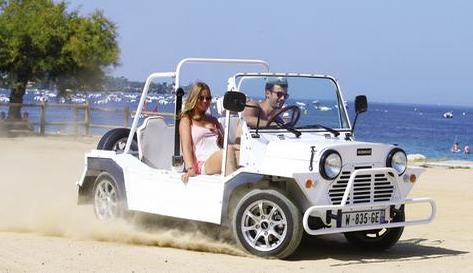 Location mini-moke saint-tropez